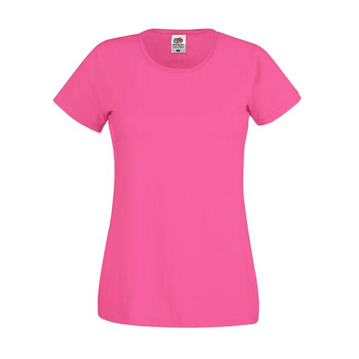 Lady-Fit T-shirt 145 g/m² Lady-Fit Original Tee 61-420-0 - Fuchsia / XL