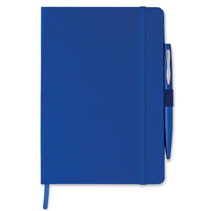 A5 note book with pen Notaplus - Blue