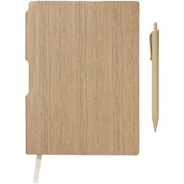Bardi A5 hard cover notebook - Natural