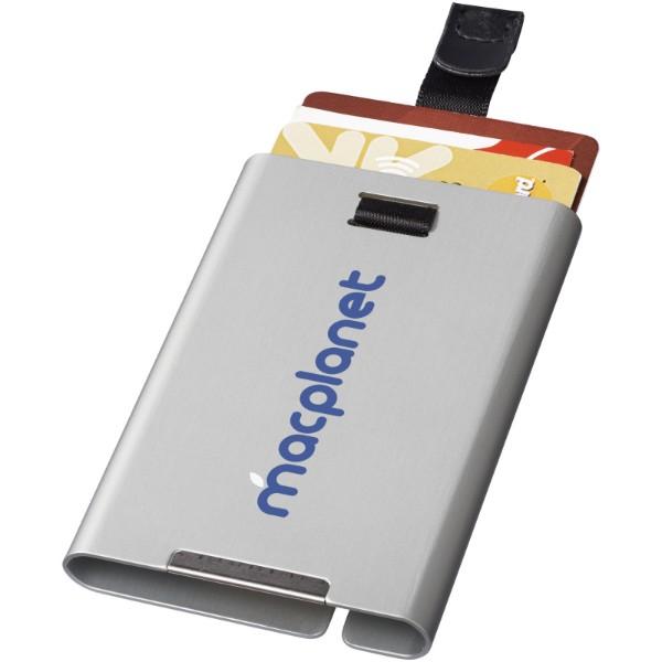 Pilot RFID secure card slider - Silver