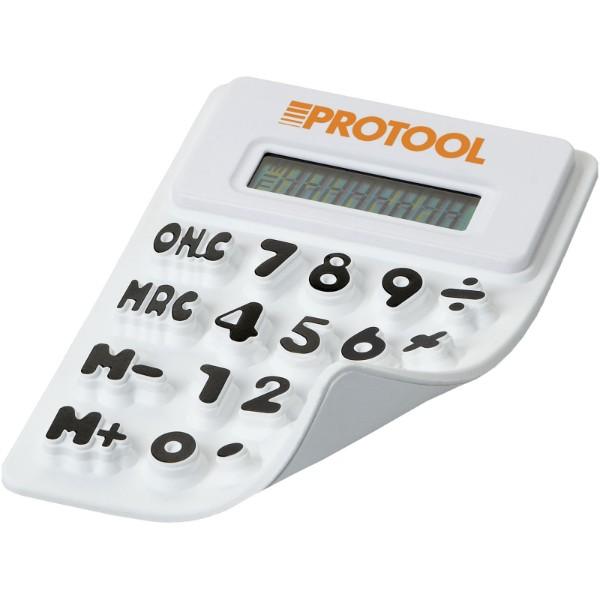 Splitz flexibler Taschenrechner - Weiss