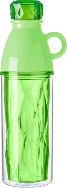 PS double walled bottle - Lime