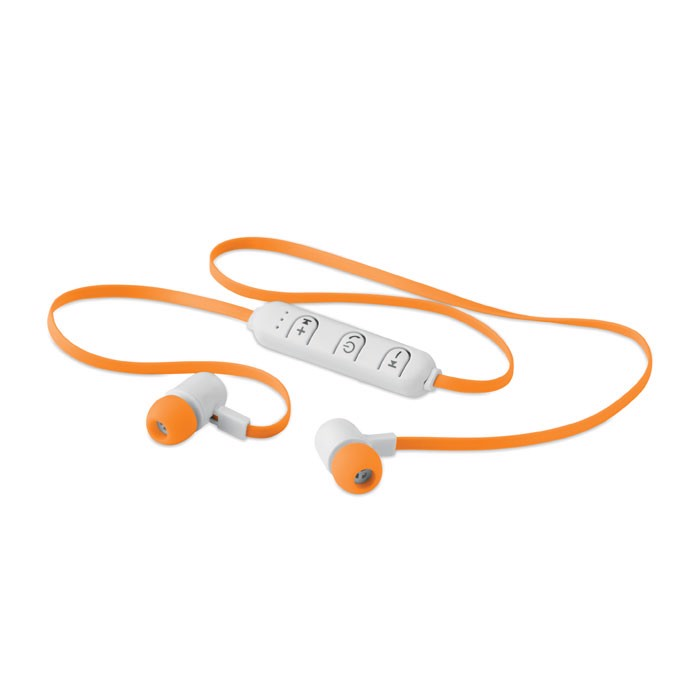 Wireless earphone in a box Jazz - Orange