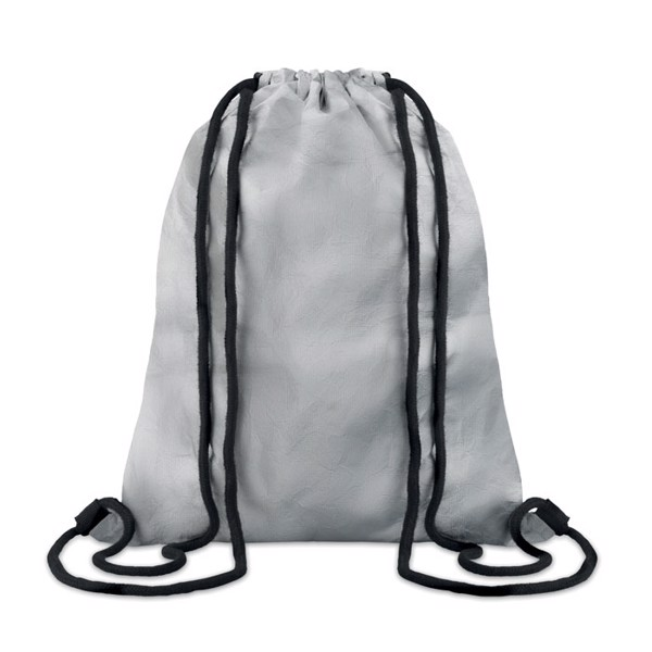 Tyvek® drawstring bag Silver Tyshoop