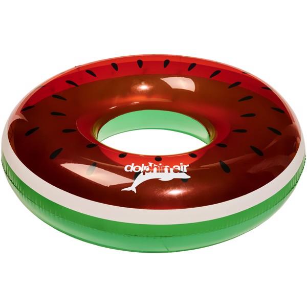 Watermelon inflatable swim ring