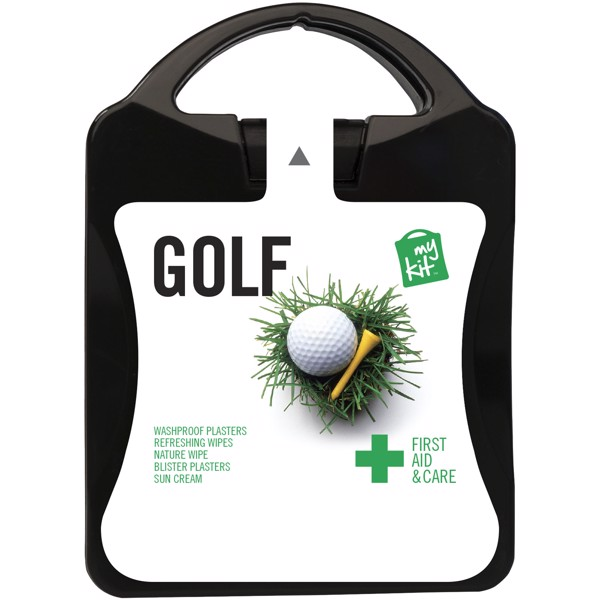 MyKit Golf First Aid - Solid Black