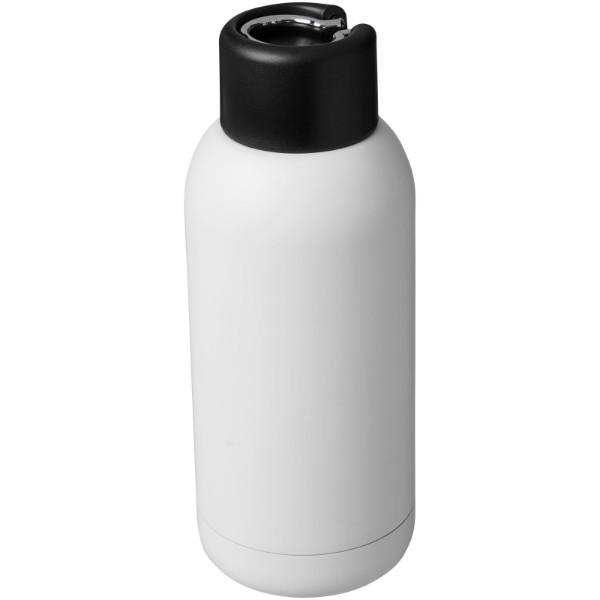 Měděná sportovní láhev Brea 375 ml s vakuovou izolací - Bílá