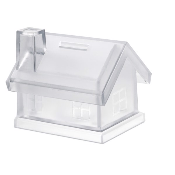 Plastic house coin bank Mybank