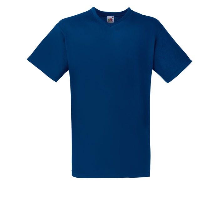 V-neck t-shirt 165 g/m² V-Neck T-Shirt 61-066-0 - Navy / XXL