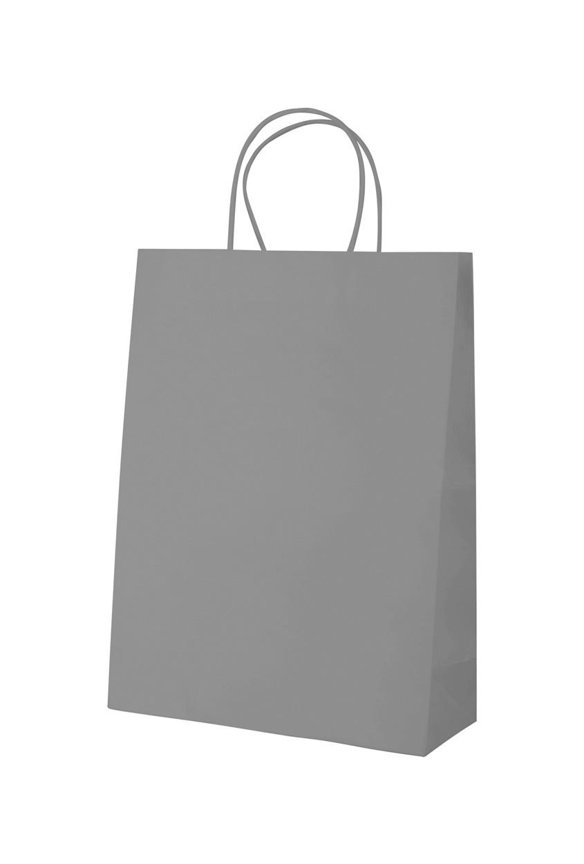 Papírová Taška Mall - Popelavě Šedý