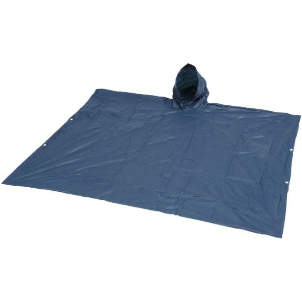 Nastavljiv dežni pončo s torbico za shranjevanje Pilar