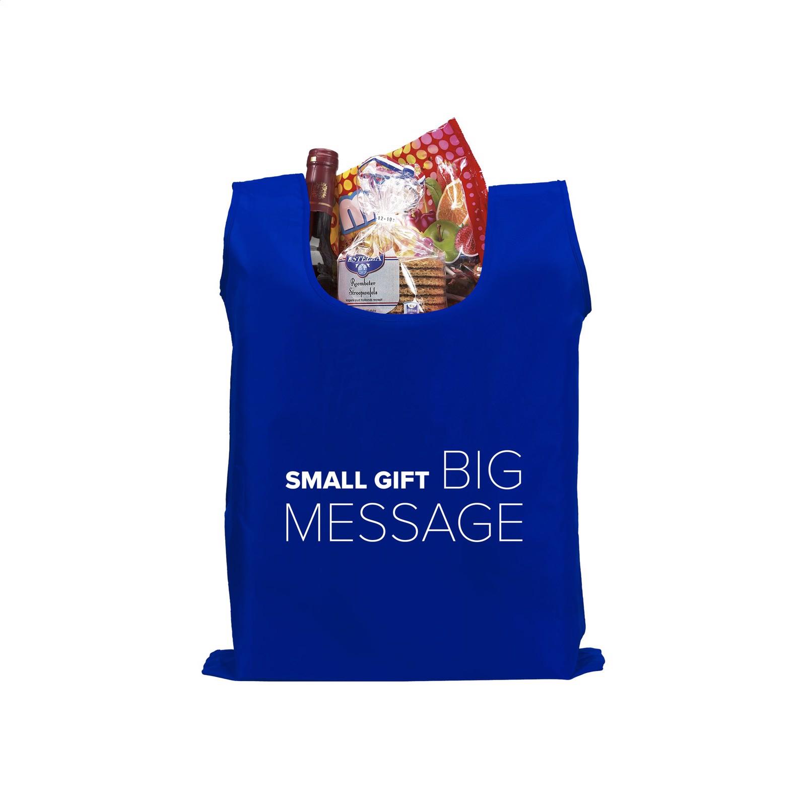 ShopEasy foldable shoppingbag - Cobalt Blue
