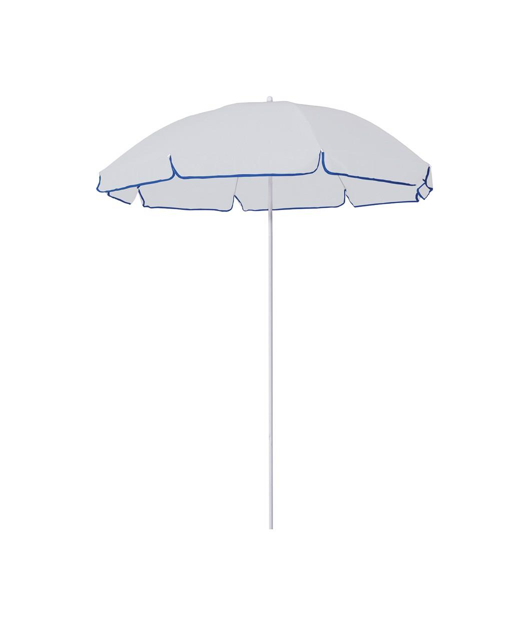 Umbrela De Plaja Mojacar - Alb / Albastru