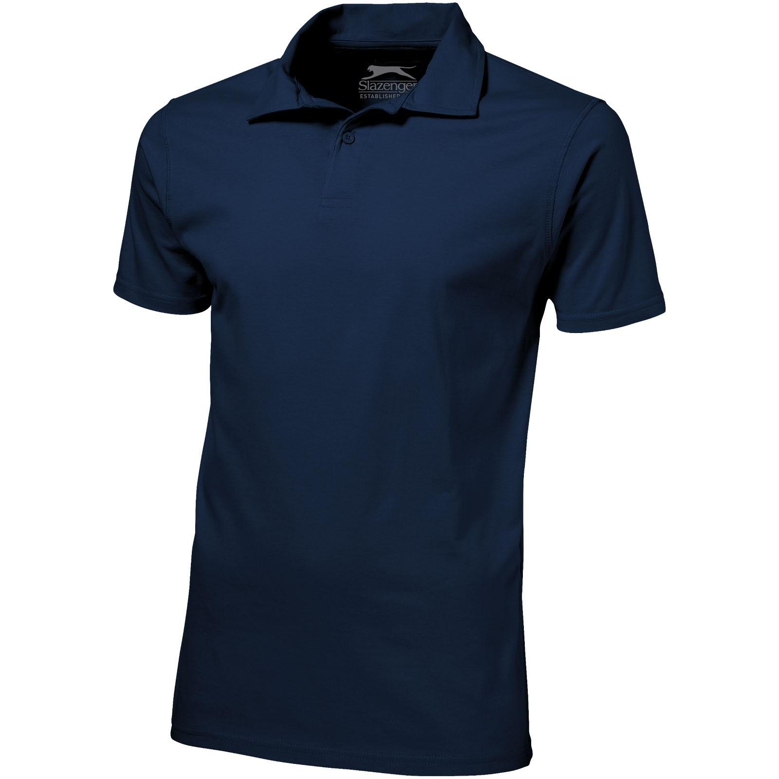 Let Jersey Poloshirt für Herren - Navy / M