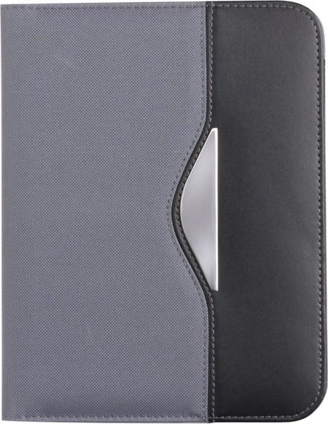 Nylon (600D) folder - Grey