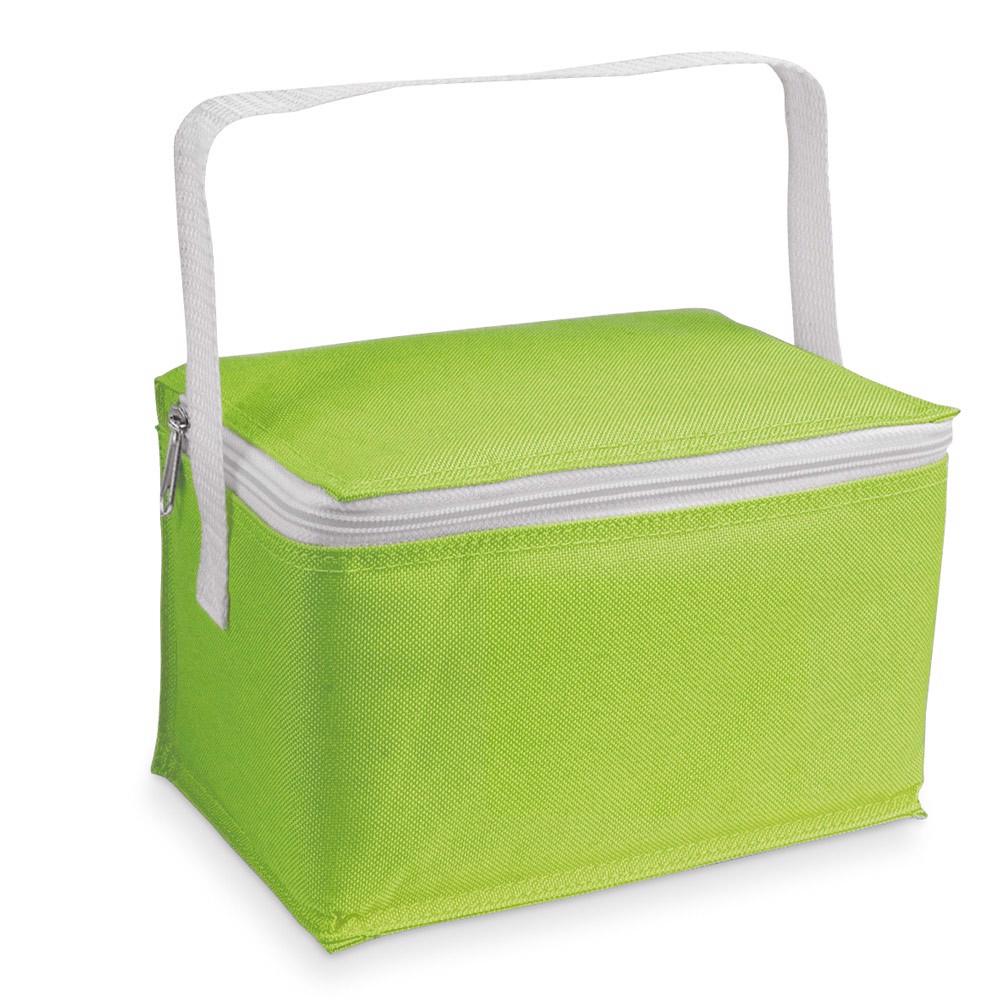JEDDAH. Cooler bag in 600D - Light Green