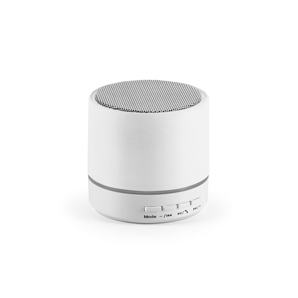 PEREY. Portable speaker with microphone - White