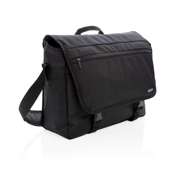 """Naramna torba za prenosni računalnik 15"""" z RFID zaščito brez PVC-ja Swiss Peak"""
