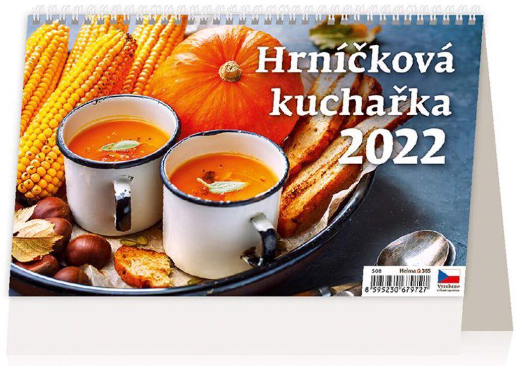 Týdenní kalendář Hrníčková kuchařka 2022