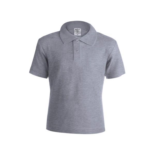 """Kids Colour Polo T-Shirt """"keya"""" YPS180 - Grey / M"""