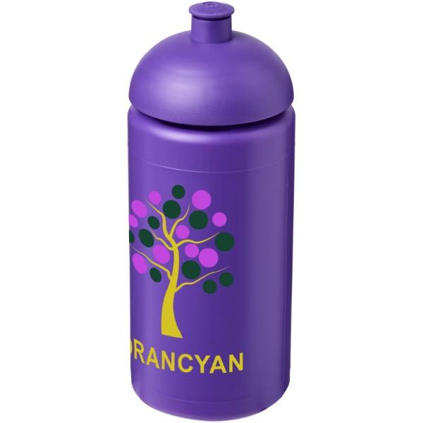 Sportovní láhev s kupolovitým víčkem Baseline® Plus grip 500 ml - Purpurová