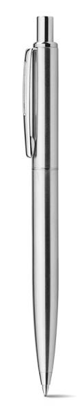 SILVERIO. Kovové kuličkové pero - Stříbrná