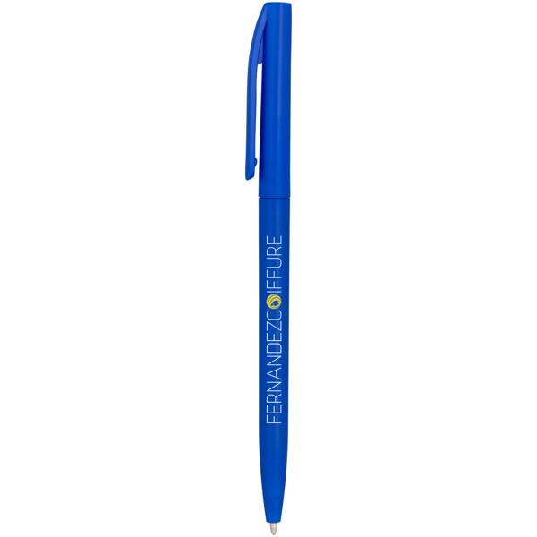 Pevné kuličkové pero Mondriane - Modrá