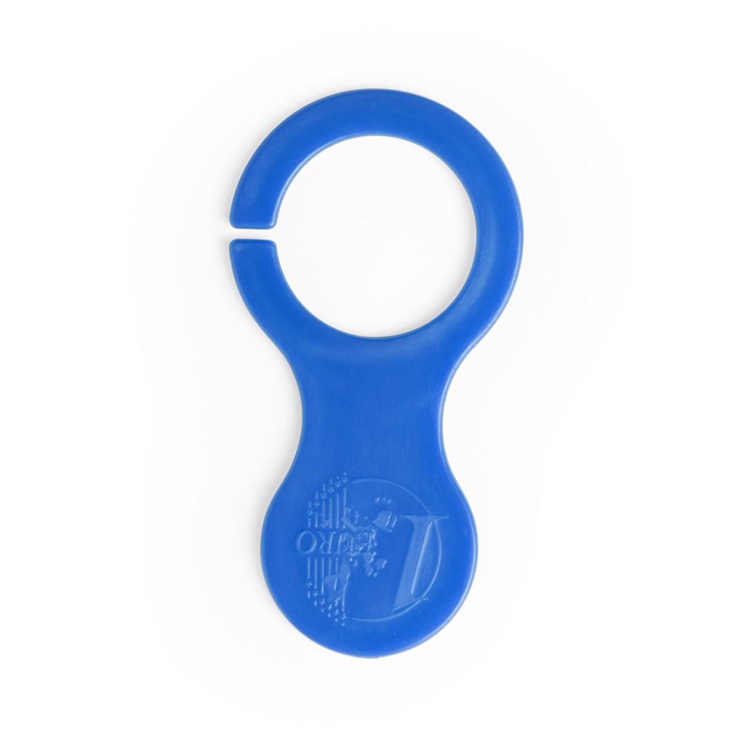 Porta-Chaves Moeda Ibershop - Azul