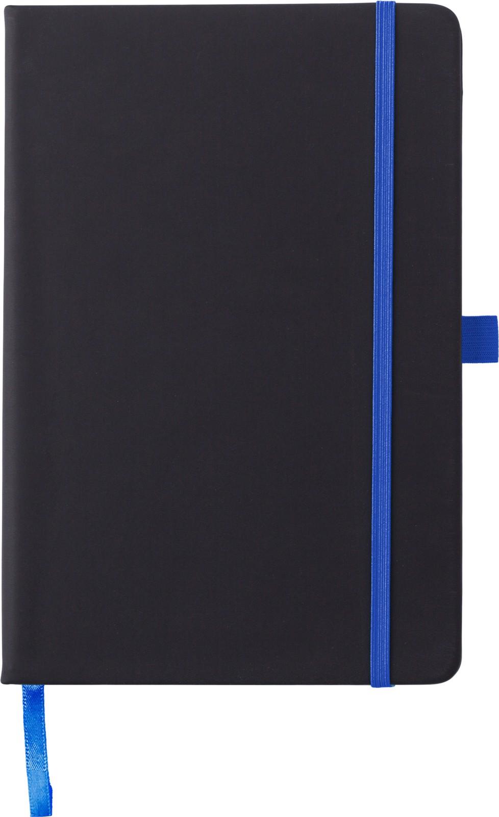 PU notebook - Cobalt Blue