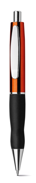 THICK. Kuličkové pero s kovovým povrchem - Oranžová