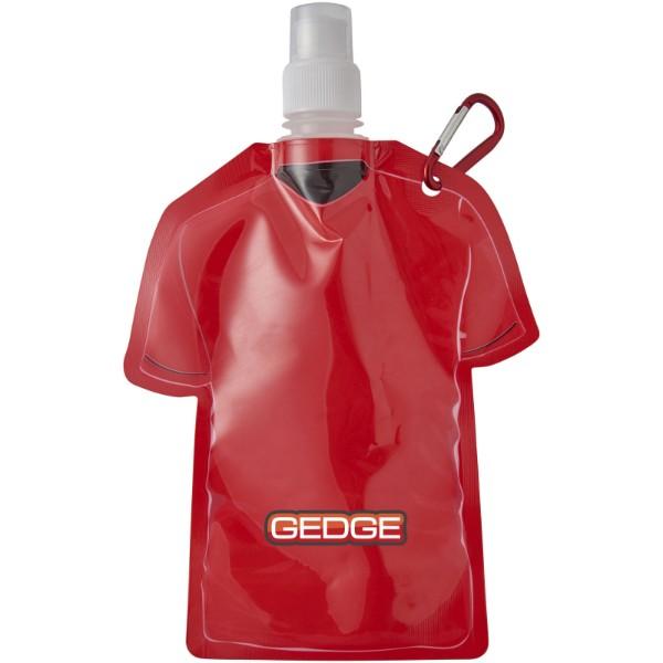 Woreczek na wodę w kształcie koszulki piłkarskiej Goal - Czerwony