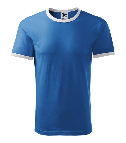 Tričko unisex Malfini Infinity - Azurově Modrá / XL
