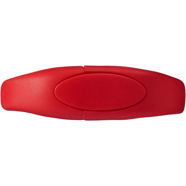 USB Bracelet - Red / 8GB