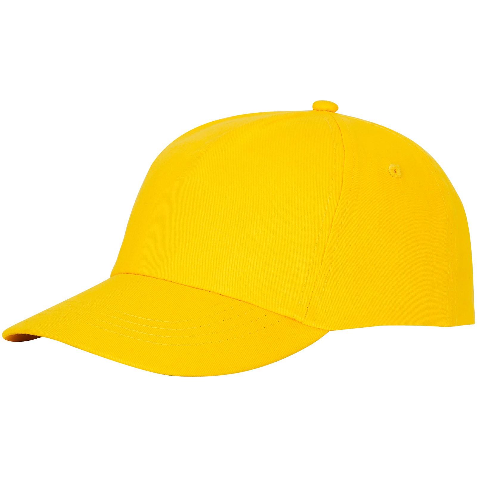 Čepice Feniks, 5 panelů - Žlutá