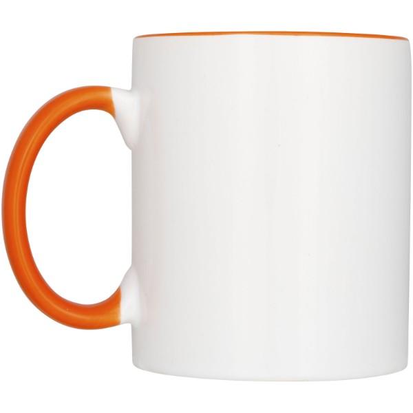 Ceramic sublimation mug 2-pieces gift set - Orange
