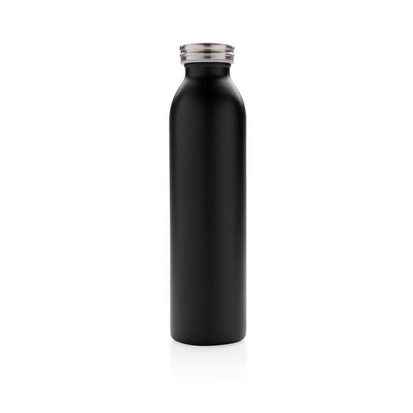 Szivárgásmentes, réz- és vákuumszigetelt palack - Fekete