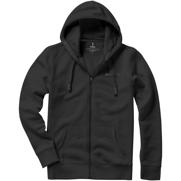 Arora hooded full zip sweater - Anthracite / 3XL