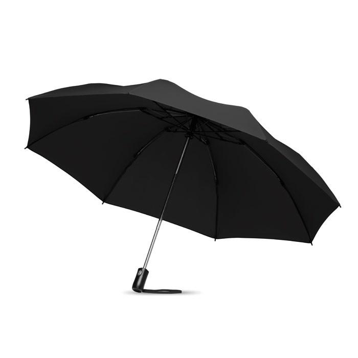 Foldable reversible umbrella Dundee Foldable - Black