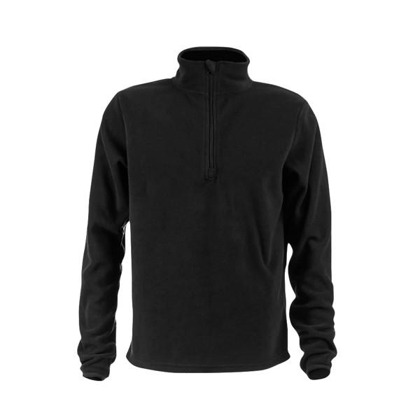 THC VIENNA. Unisex fleecová bunda - Černá / XXL