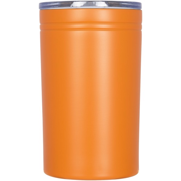 Pika 330 ml vacuum insulated tumbler and insulator - Orange