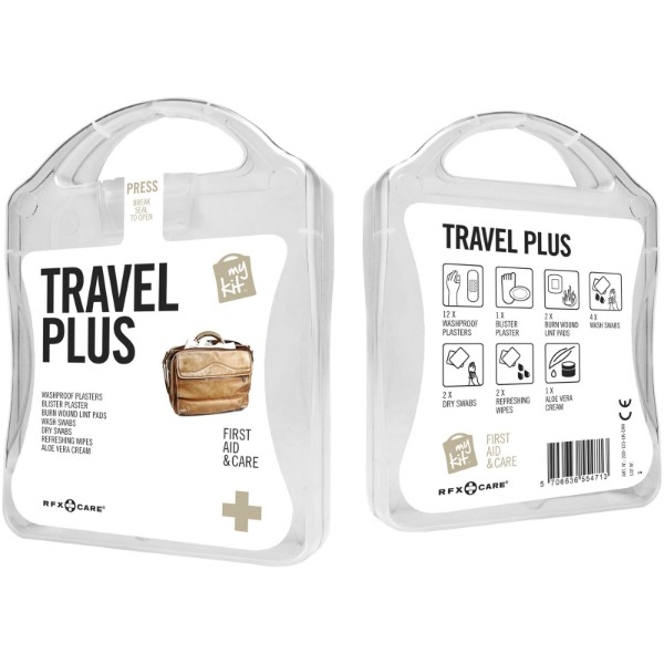 MyKit Travel Plus First Aid Kit - White