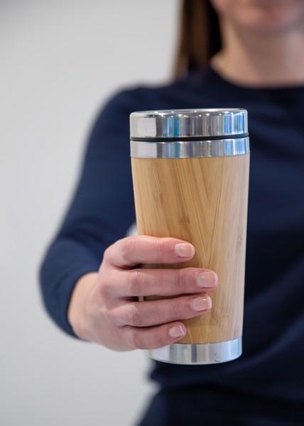 Bambusz bögre