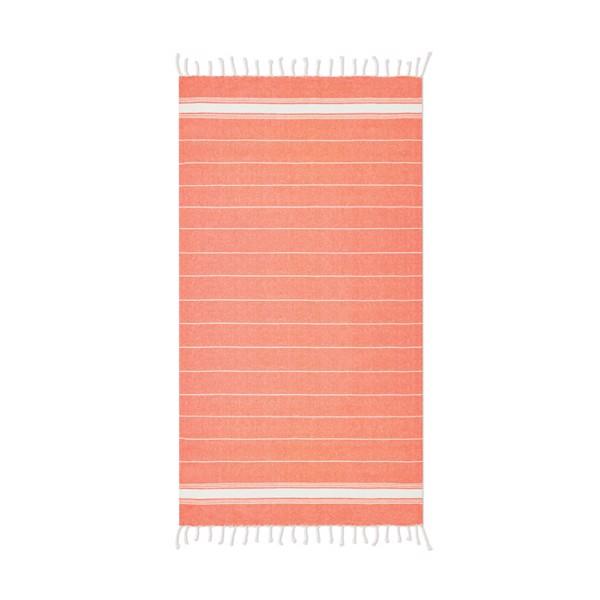 Ręcznik plażowy Malibu - pomarańczowy