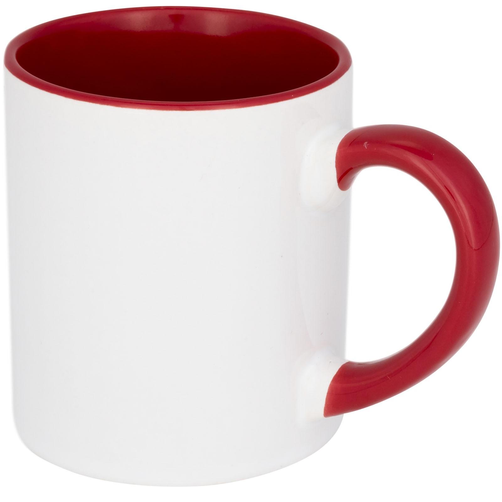 Pixi 250 ml mini ceramic sublimation colour-pop mug - Red