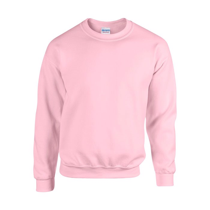 Mikina Heavy Blend Sweat 18000 - Light Pink / S