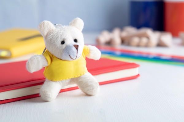 Breloc Teddy - Galben