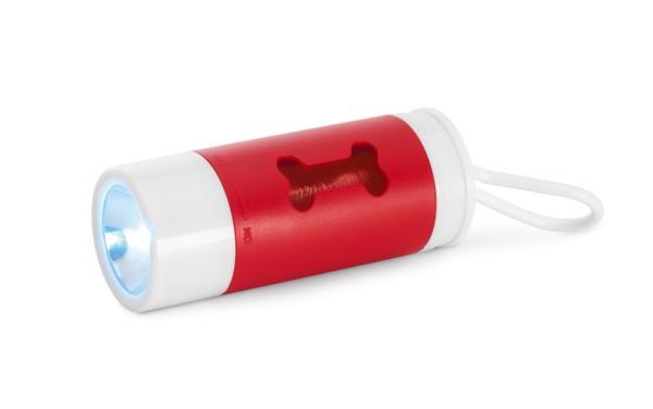 BALADE. Dávkovač hygienických tašek (sáčků) - Červená