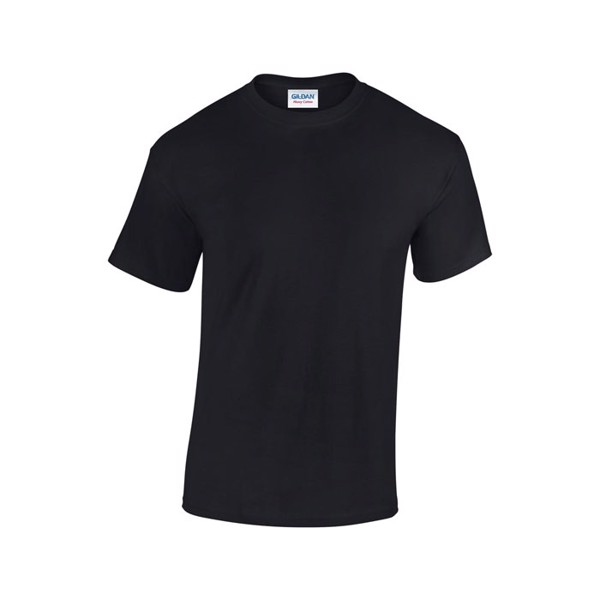 Tlusté tričko 185 g/m² Heavy T-Shirt 5000 - Black/Black Opal / M