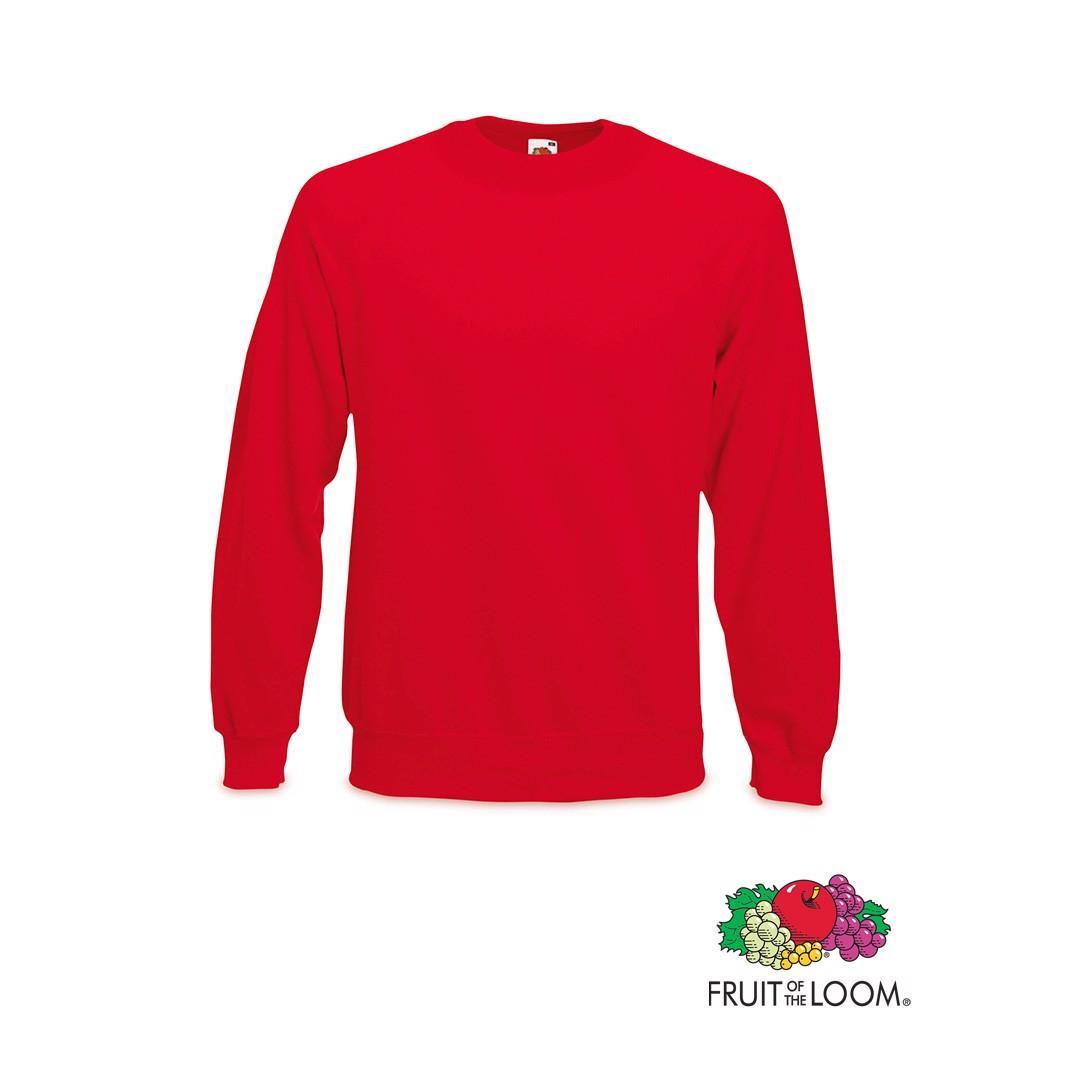 Sudadera Raglan - Rojo / M