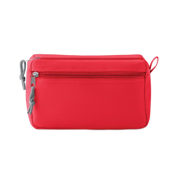 PVC free cosmetic bag New & Smart - Red